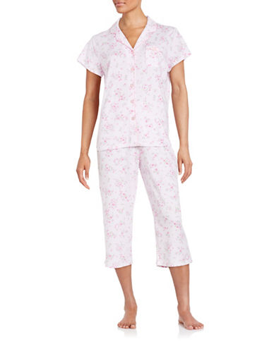Plus Cropped Pajama Set plus size,  plus size fashion plus size appare