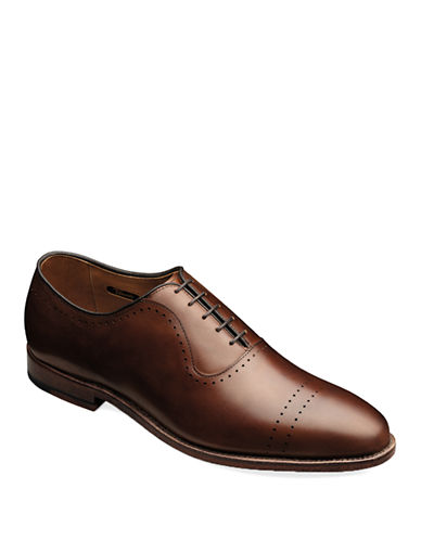 ALLEN EDMONDS Vernon Perforated Leather Oxfords