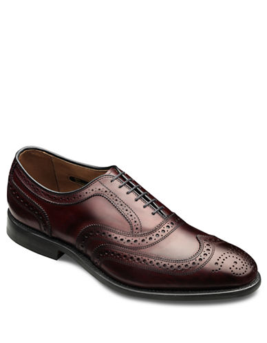 ALLEN EDMONDS McAllister Leather Wingtip Brogue Oxfords