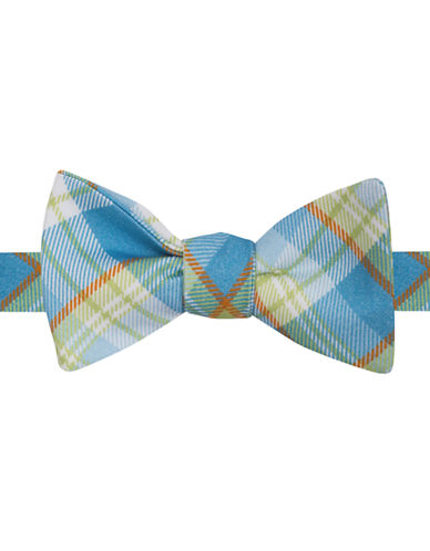TED BAKER Silk-Blend Plaid Bow Tie
