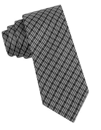 CALVIN KLEINPlaid Silk Tie