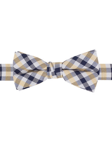 LORD & TAYLOR KIDS Silk-Blend Plaid Bow Tie