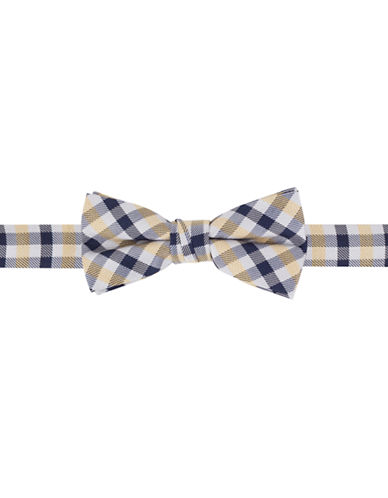 LORD & TAYLOR KIDS Boys 2-7 Plaid Silk-Blend Bow Tie