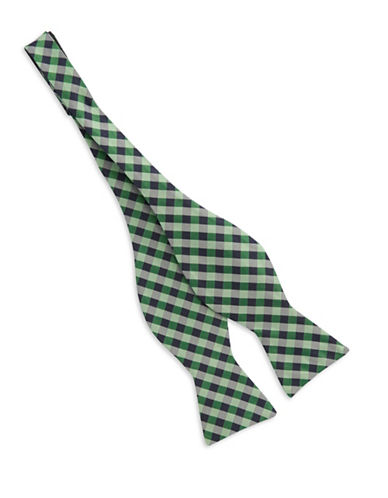 TED BAKER Checkered Bow Tie