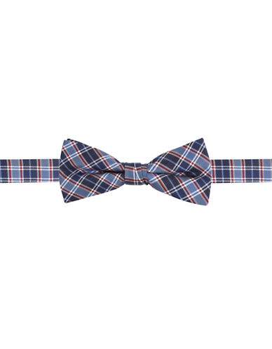 LORD & TAYLOR KIDS Silk Plaid Bow Tie