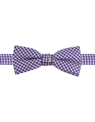 LORD & TAYLOR KIDS Silk Houndstooth Printed Bow Tie