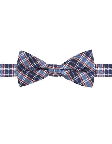 LORD & TAYLOR KIDS Boys 2-7 Silk Plaid Printed Bow Tie