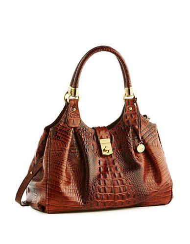 Brahmin Elisa Leather Satchel Bag