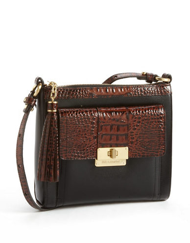 BRAHMIN Mimosa Leather Crossbody Bag