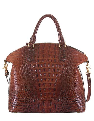 BRAHMINDuxbury Leather Large Satchel