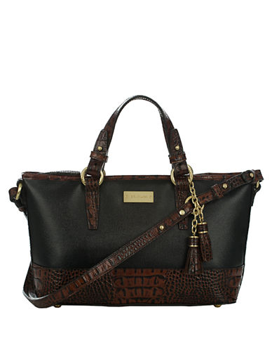 BRAHMINAsher Leather Mini Tote Bag
