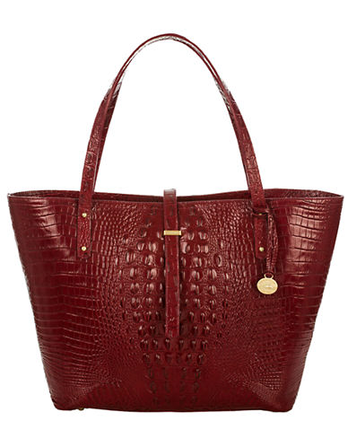 BRAHMINCarmine Leather All Day Tote Bag