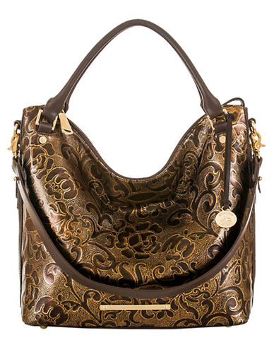 BRAHMINNorah Embossed Leather Tote Bag