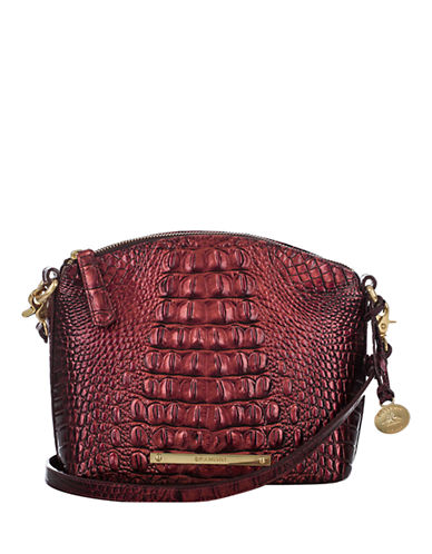 BRAHMIN Duxbury Leather Mini Shoulder Bag