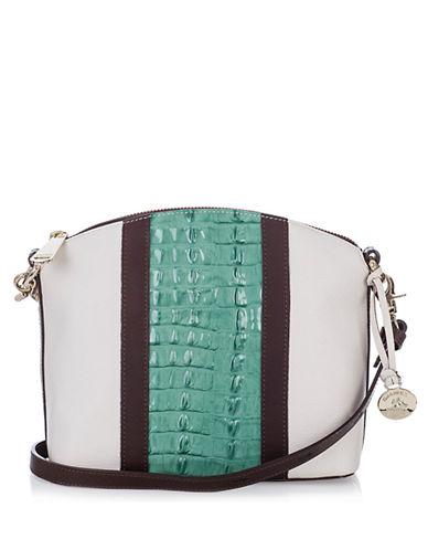 BRAHMINMini Duxbury Leather Shoulder Bag