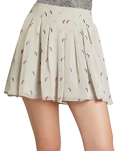 Box-Pleat Miniskirt plus size,  plus size fashion plus size appare