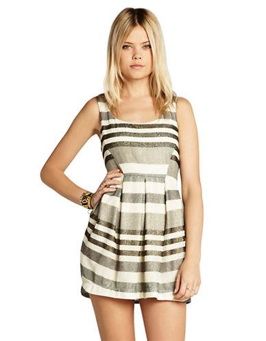Shop Bcbgeneration online and buy Bcbgeneration Multi Pleated Mini Dress dress online