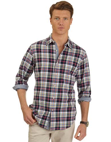 NAUTICACasual Fit Plaid Sport Shirt