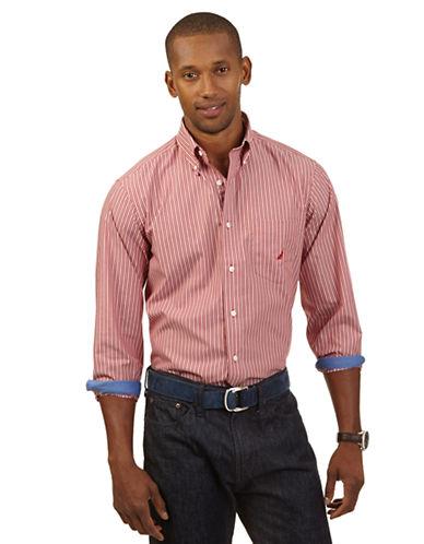 NAUTICAClassic Fit Multi Stripe Sport Shirt
