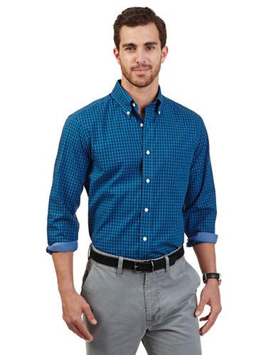 NAUTICAClassic Fit Mini Plaid Sport Shirt