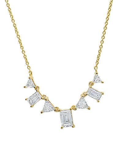 CRISLUCarrie Cubic Zirconia Sterling Silver Necklace