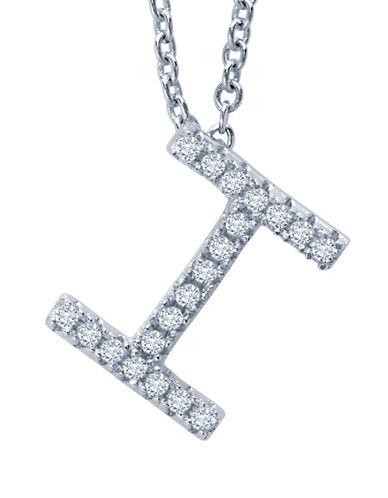 CRISLUInitial 'I' Charm Necklace