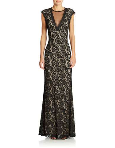 womens evening lace gown lord taylor