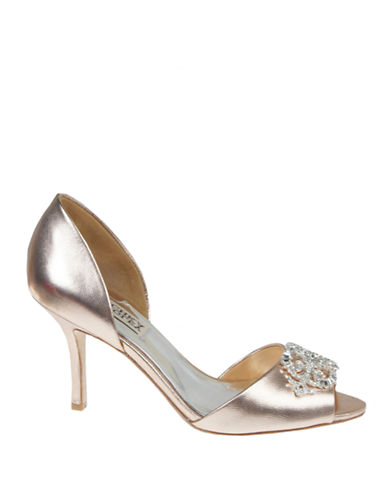 BADGLEY MISCHKA Salsa Peep-Toe Pumps
