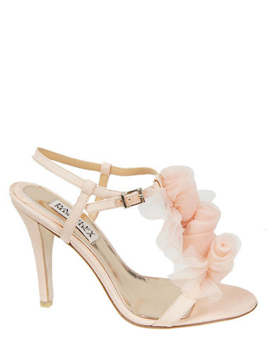 Cissy High-Heel T-Strap Sandals