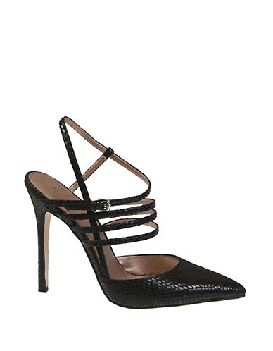 BELLE BY BADGLEY MISCHKAVal Snake Printed Pumps
