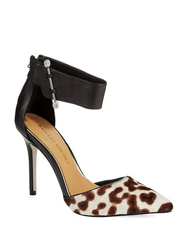 BADGLEY MISCHKA Jude Ankle Strap Pumps