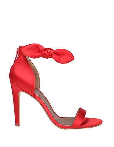 BELLE BY BADGLEY MISCHKAIsabel High-Heel Satin Sandals