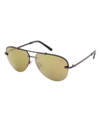 KENNETH COLE NEW YORKShiny Aviator Sunglasses