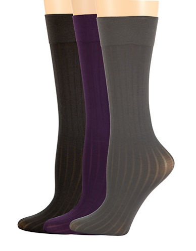 ELLEN TRACYThree Pack Trouser Socks