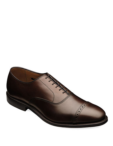 ALLEN EDMONDS Fifth Ave Leather Brogue Oxfords