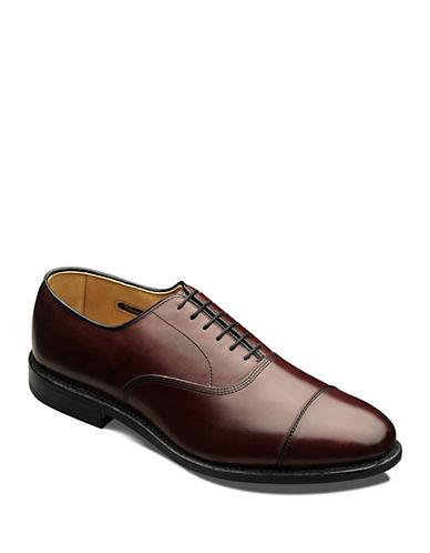 ALLEN EDMONDSPark Avenue Leather Cap Toe Oxfords