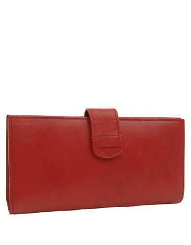 TUSK Donington Leather Slim Clutch Wallet