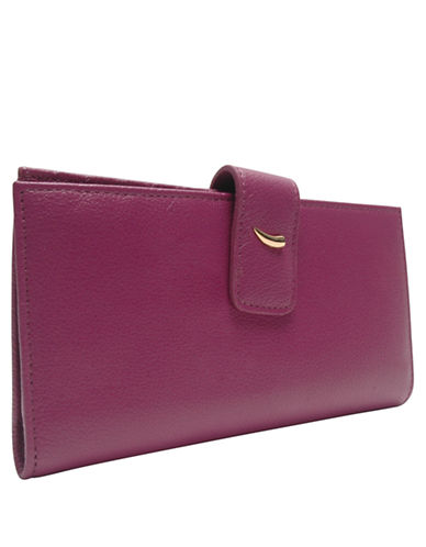 TUSK Leather Slim Clutch Wallet