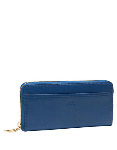 TUSK Madison Leather Gusset Clutch