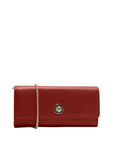 TUSKMadison Saffiano Leather Clutch Wallet
