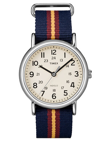 Timex Weekender Full-Size Watch with Slip-Thru Strap