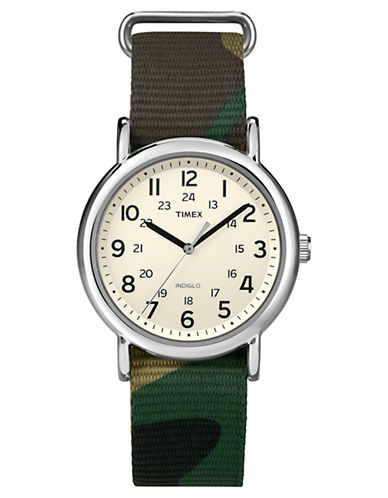 Timex Weekender Full-Size Camouflage Strap Watch