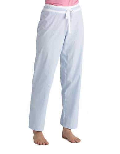 LAUREN RALPH LAURENHeritage Striped Cotton Sleep Pants