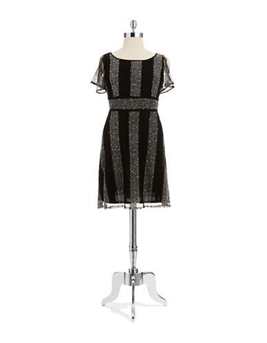 GABBY SKYEPlus Striped Knit Dress