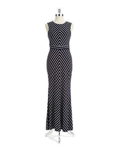 TAYLORStriped Maxi Dress