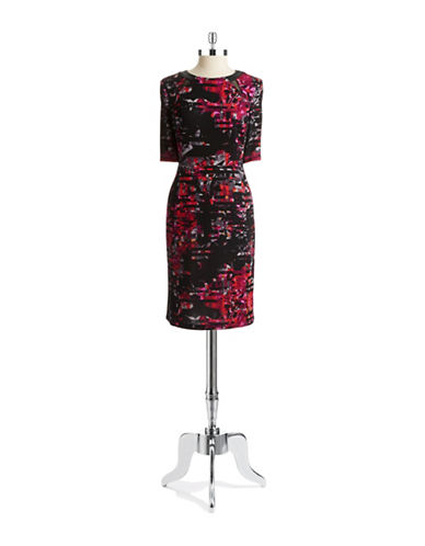 TAYLOR Floral Sheath Dress