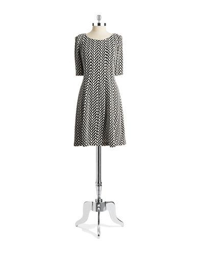TAYLORPrinted Knit Dress