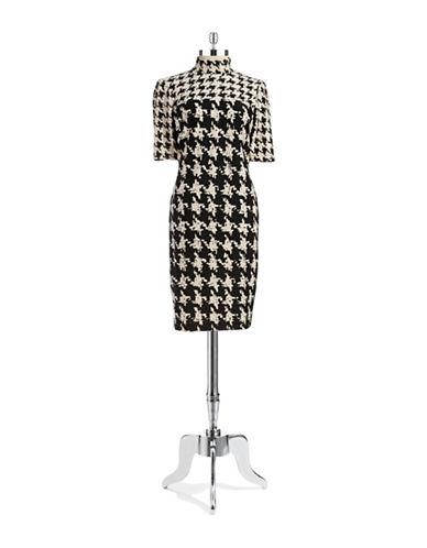 TAYLORMock Neck Shift Dress
