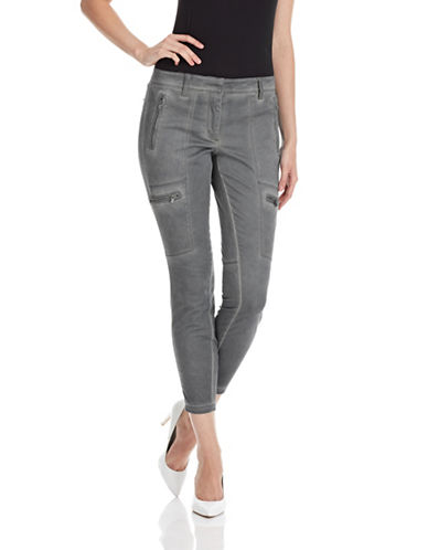 DKNY PURE Skinny Zip Pocket Cargo Pants