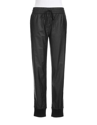 DKNY PUREMixed Texture Harem Pants